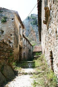 Abandoned village stock 10