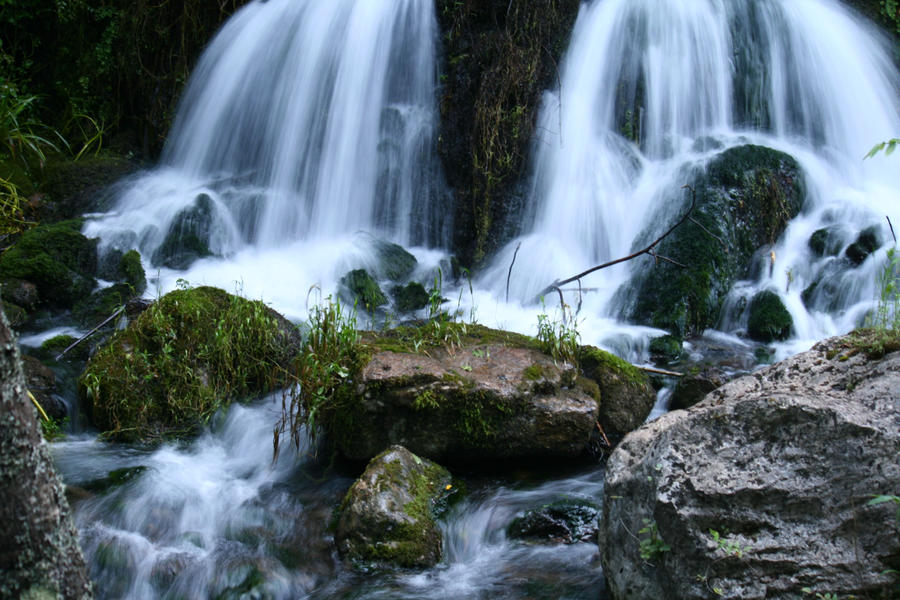 Waterfall Stock 01 by Malleni-Stock