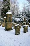 Winter cemetery stock 05