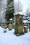 Winter cemetery stock 06