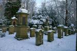 Winter cemetery stock 07