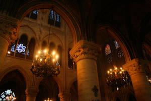 Notre Dame Interior Stock 01 by Malleni-Stock