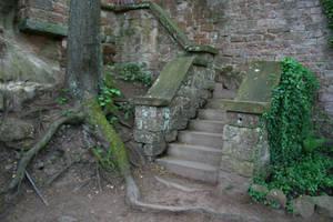 Berwartstein Castle Stock 37 by Malleni-Stock
