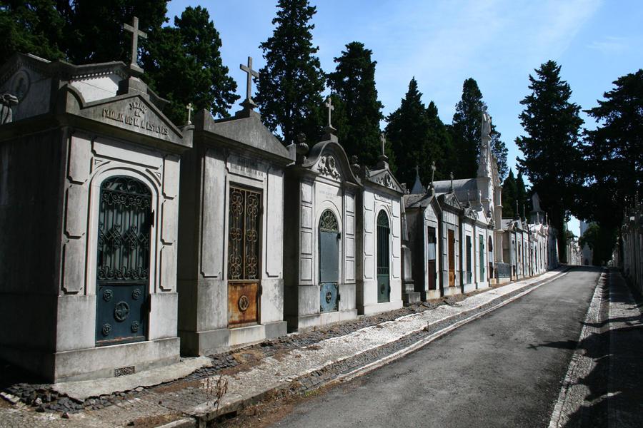 Lisbon Cemetery Stock 19 by Malleni-Stock