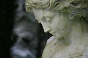 Angel statue stock 02 by Malleni-Stock