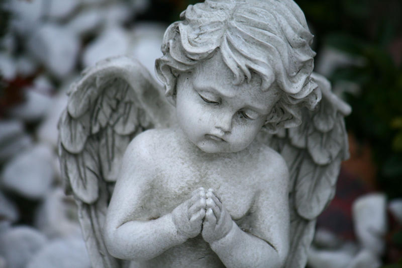 angel statue stock 05 by