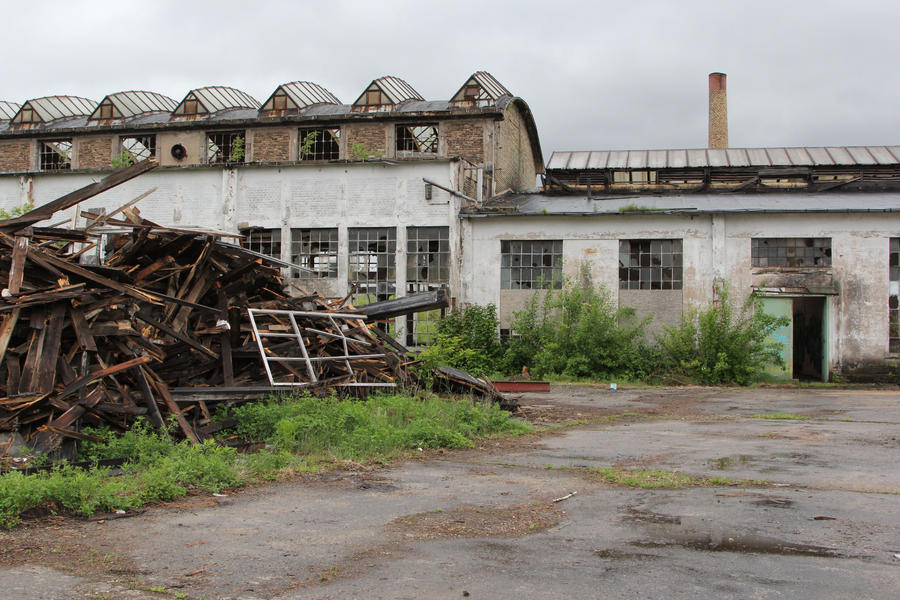 Industrial decay Stock 086