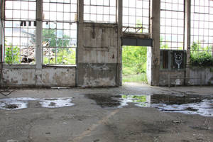 Industrial decay Stock 108 by Malleni-Stock