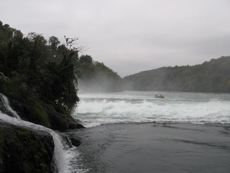 Rhine Falls Stock 03