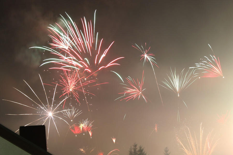 Fireworks Stock 12 by Malleni-Stock
