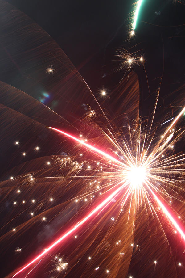 Fireworks Stock 53 by Malleni-Stock