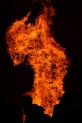 Fire Creature Stock by Malleni-Stock