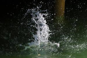 Water splash Stock 09 by Malleni-Stock