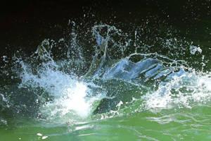 Water splash Stock 04 by Malleni-Stock