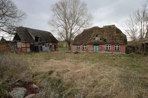 Abandoned Farmhouse Stock 06 by Malleni-Stock