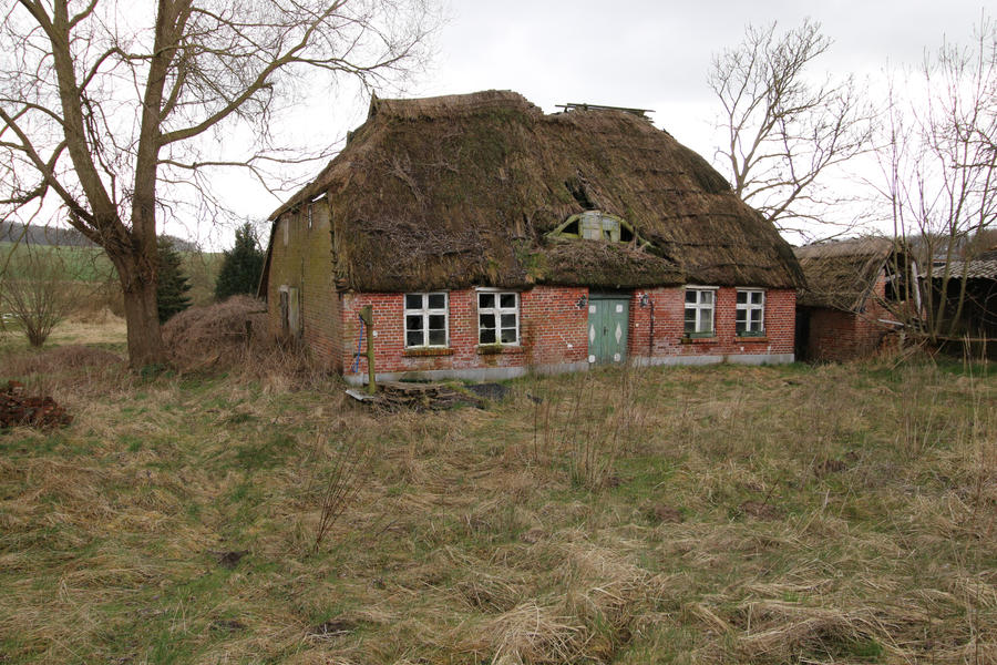 Abandoned Farmhouse Stock 08
