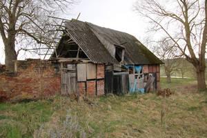 Abandoned Farmhouse Stock 03 by Malleni-Stock