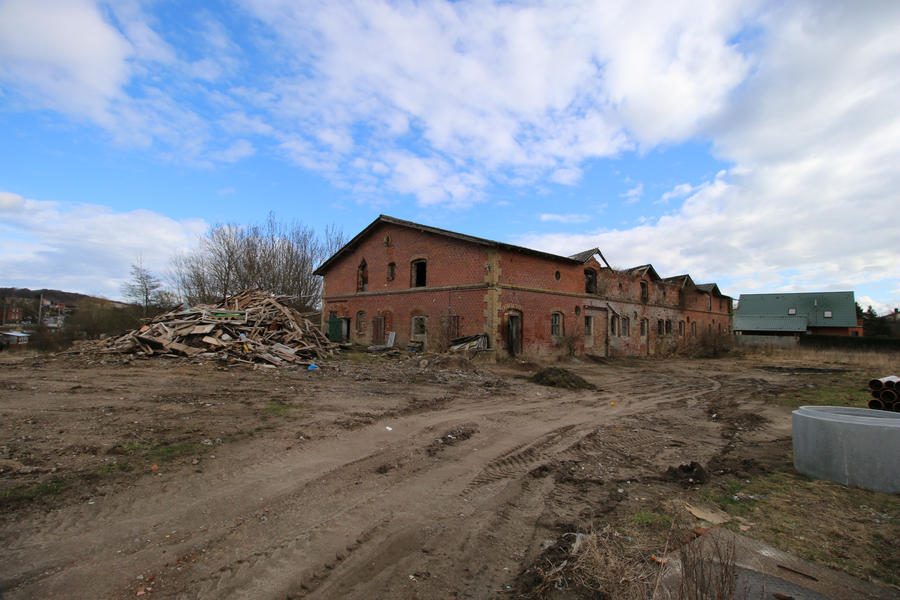 Abandoned building Stock 13