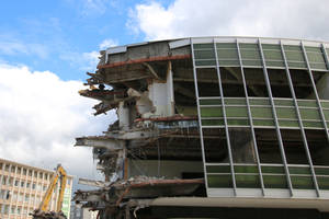 Demolition site Stock 20 by Malleni-Stock