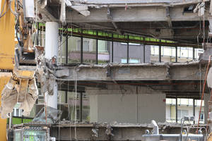 Demolition site Stock 22 by Malleni-Stock