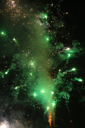 Firework Stock 124 by Malleni-Stock