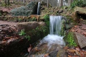 Waterfall Stock 19 by Malleni-Stock