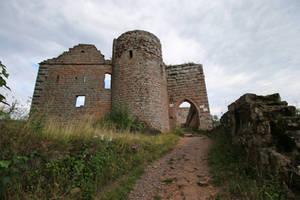 Neuscharfeneck Ruins Stock 19 by Malleni-Stock