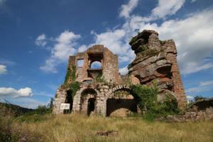 Neuscharfeneck Ruins Stock 29 by Malleni-Stock