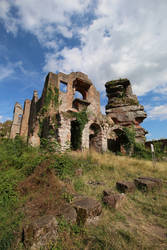 Neuscharfeneck Ruins Stock 31 by Malleni-Stock