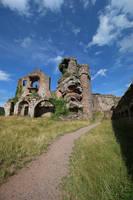 Neuscharfeneck Ruins Stock 30 by Malleni-Stock