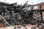 Fire ruin Stock 06