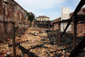 Fire ruin Stock 07 by Malleni-Stock