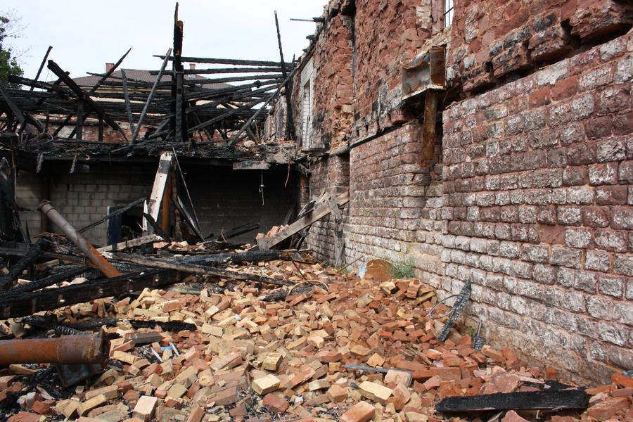 Fire ruin Stock 08