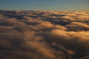 Above the clouds Stock 029 by Malleni-Stock