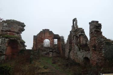 Neuscharfeneck Ruins Stock 39