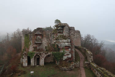 Neuscharfeneck Ruins Stock 38