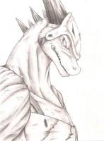 Dragon Warrior Monster: Lizardman by Chibikoma