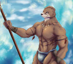 Otter Warrior by Chibikoma