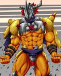 Digimon - Wargreymon by Chibikoma