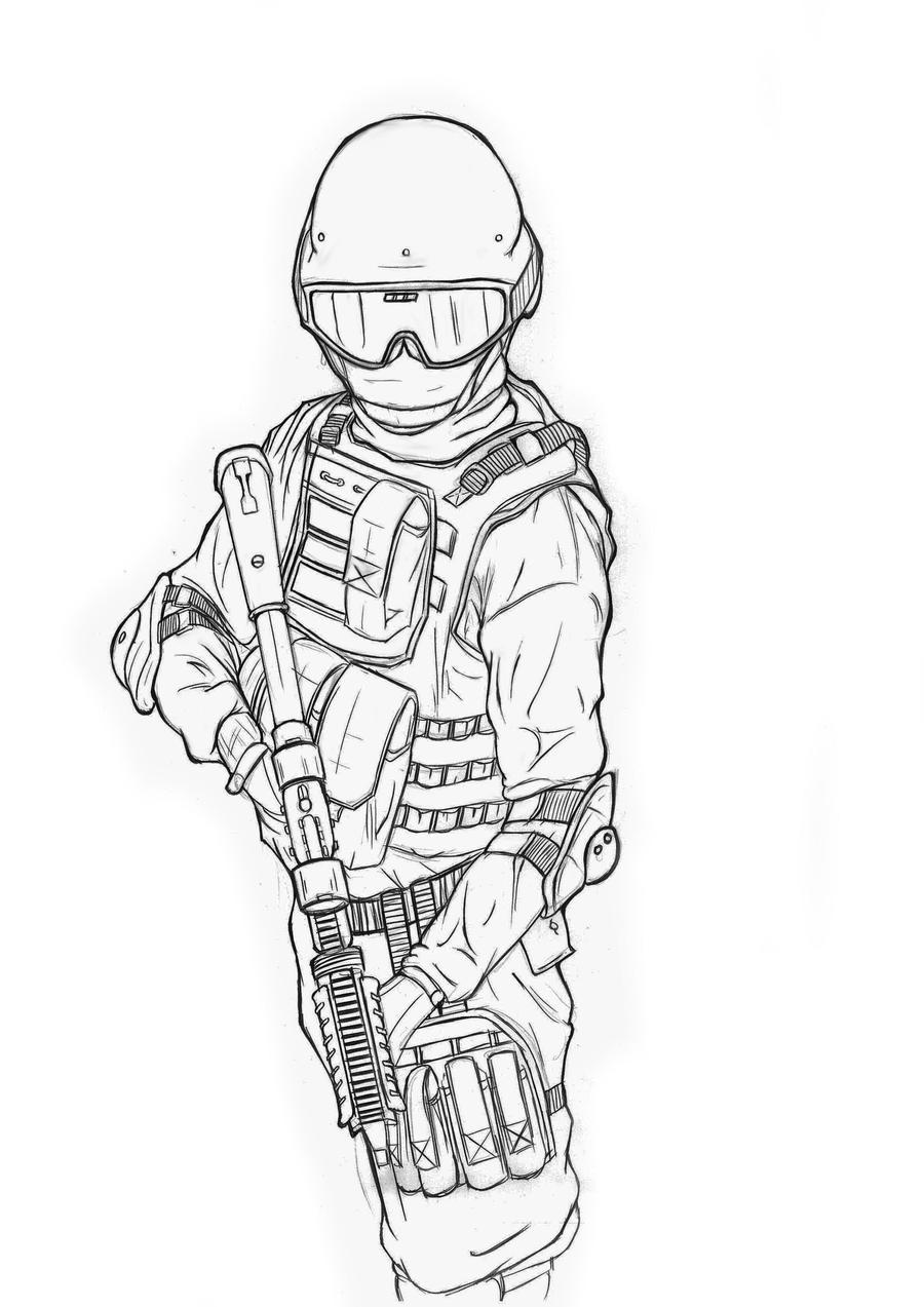 Soldier Boy by togigata on DeviantArt