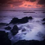 Sunset in Pangumbahan by thesaintdevil