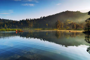Morning at Situ Gunung II by thesaintdevil
