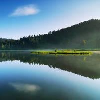 Morning at Situ Gunung III by thesaintdevil