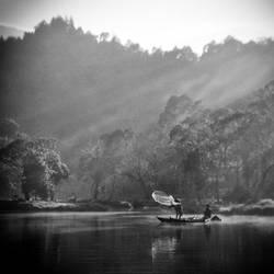 Situ Gunung's Morning Fishing