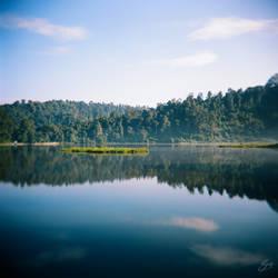 Reflection at Situ Gunung