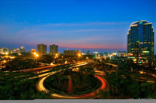 Evening in Jakarta