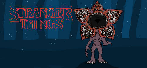 Demogorgon from Stranger Things by mannydrawscomics