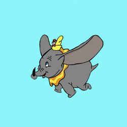 Dumbo  by mannydrawscomics