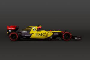 2016 RenaultF1 #13 Pastor Maldonado by andwerndesign