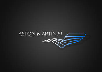2016 Aston Martin Mercedes F1 Logo by andwerndesign